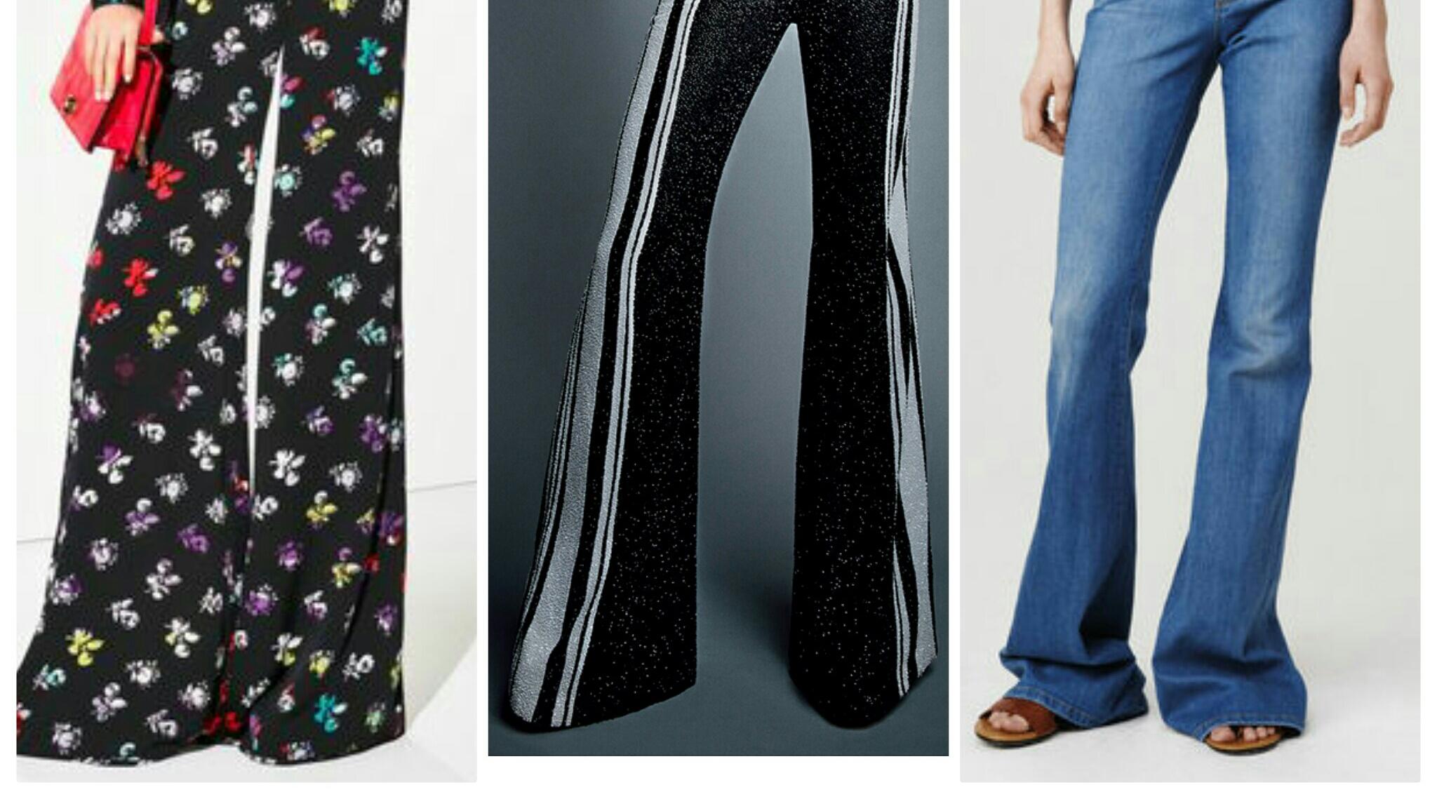Flared Trousers: Bye Bye Skinny