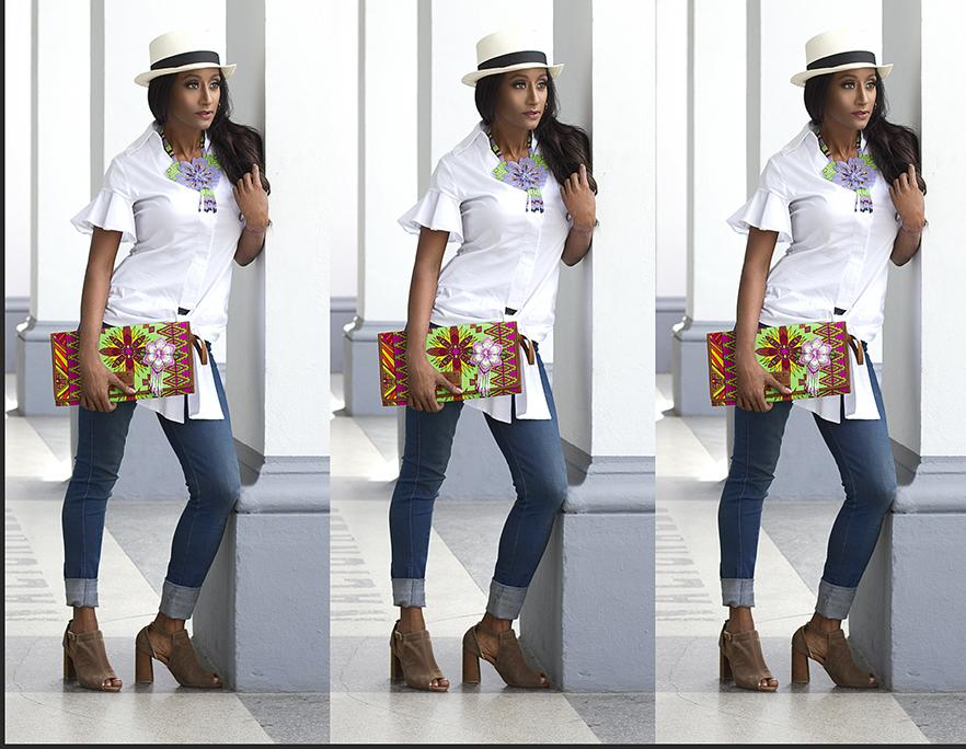 Camisa Blanca + Jeans: Un clásico infallible