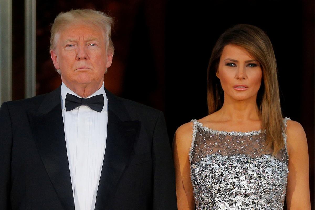 """Donald Trump, le encanta el poder y tener una """"trophy wife"""" a su lado. Actualmente casado con la ex modelo Melania Knauss."""